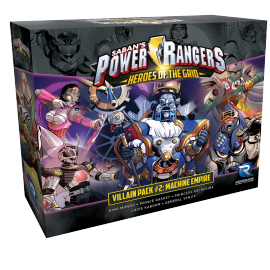 Power Rangers: Heroes of the Grid Villain Pack 2 Machine Empire