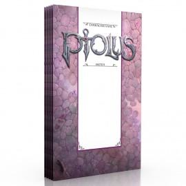 Ptolus Character Portfolio 5pk for 5e - RPG
