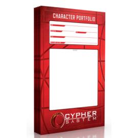 Ptolus Character Portfolio 5pk Cypher - RPG