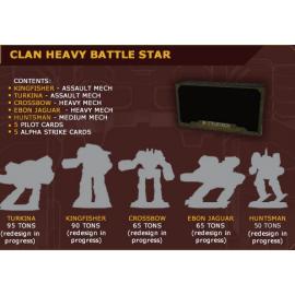 BattleTech Clan Heavy Battle Star - Miniature Game