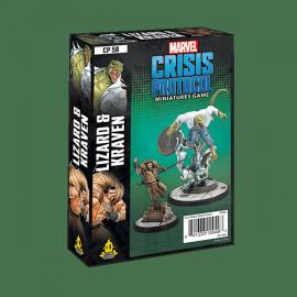 Marvel Crisis Protocol Line Lizard and Kraven