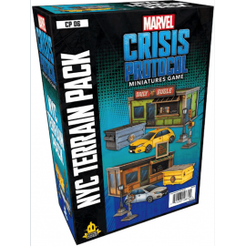 Marvel Crisis Protocol: NYC Terrain Expansion (CP06)