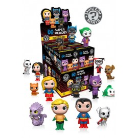 Mystery Mini Figures Display DC Heroes & Pets (12)
