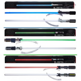 Star Wars Electronic FX Lightsaber Assortment (3) - The Black Series