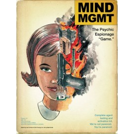 MIND MGMT The Psychic Espionage Game - Boardgame