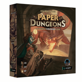 Paper Dungeons - boardgame