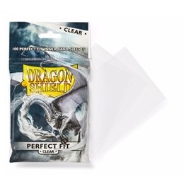 Dragon Shield - Perfect Fit Clear/clear (100ct in bag/15 bags)
