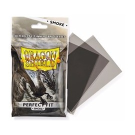 Dragon Shield - Perfect Fit Clear/Smoke (100ct in bag/15 bags)