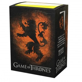 Game of Thrones - House Lannister License Sleeves - SLEEVES - STANDARD SIZE - Accessorie
