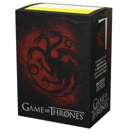 Game of Thrones - House Targaryen License Sleeves - SLEEVES - STANDARD SIZE - Accessorie