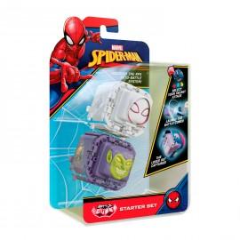 MARVEL SPIDERMAN BATTLE CUBE-SPIDER-GWEN VS GREEN GOBLIN 2 PACK - BATTLE SET
