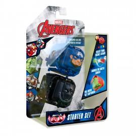 MARVEL AVENGERS BATTLE CUBE-AMERICAN CAP VS BLACK PANTHER 2 PACK - BATTLE SET