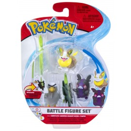 Pokemon - BATTLE FIGURE SET 3-pack wave 9 (4)