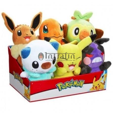 "Pokemon - 8"" PLUSH asst wave 9 (6)"