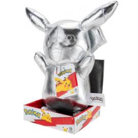 """Pokemon Select 12"""" PLUSH Silver Pikachu piece"""