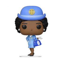 Ad Icons:141 Pan Am- Stewardess w/ Blue Bag