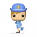 Ad Icons 142 : Pan Am - Stewardess w/ Whie Bag