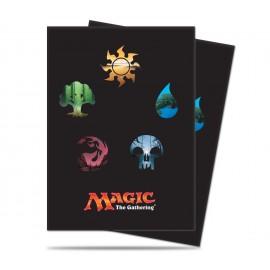 MTG Mana 5 symbols standard deckpro Sleeves 80p