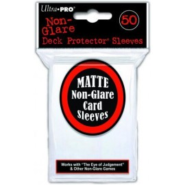 Solid Clear Non-Glare Sleeves (10x50)