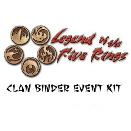 L5R CCG Clan Binder Event Kit