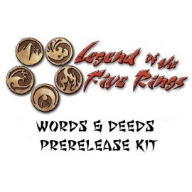L5R CCG Words & Deeds Prerelease Kit
