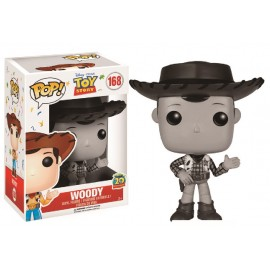 Disney 168 POP - Toy Story - Woody Black & White LIMITED