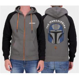 The Mandalorian - Men's Zipper Hoodie - Large