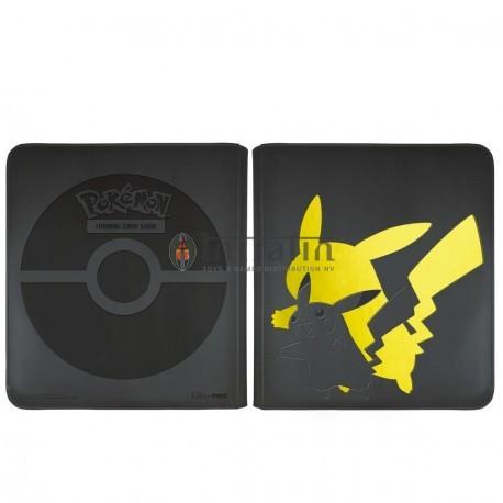 PKM Elite Series: Pikachu 12-Pocket Zippered PRO-Binder