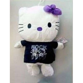 Hello Kitty Plush 50cm Black
