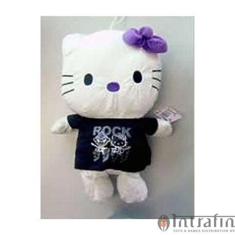 Hello Kitty Plush 50cm Black