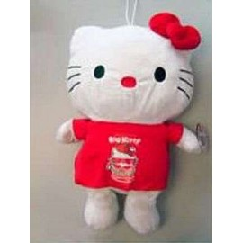 Hello Kitty Plush 50cm Red
