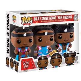 WWE POP - Big E - Xavier Woods - Kofi Kingston 3-pack