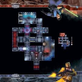 Star Wars Imperial Assault ISB Headquarters Skirmish Map
