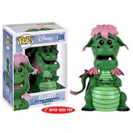 "Disney 206 POP - Pete's Dragon - Elliot 6"" Oversized"