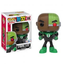 Television 338 POP - Teen Titans Go! - Cyborg as Green Lantern LIMITED