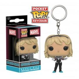 POP Keychain - Marvel - Unmasked Spider-Gwen LTD