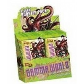 Dungeons & Dragons 4 Gamma World Booster Display (8)