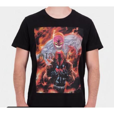 Warner - Red Hood - Graphic - Men's Short Sleeved T-shirt - extra Large