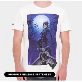 Night Wing - Graphic - Men's Short Sleeved T-shirt - Medium