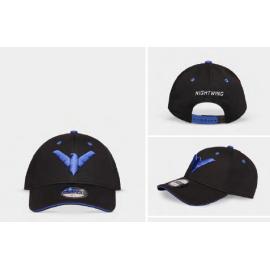 Night Wing - Logo - Men's Adjustable Cap
