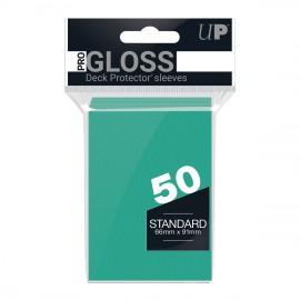 Standard Sleeves Pro Gloss Aqua Display (12x50)
