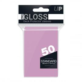 Standard Sleeves Pro Gloss Bright Pink Display (12x50)