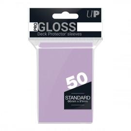 Standard Sleeves Pro Gloss Bright Lilac Display (12x50)