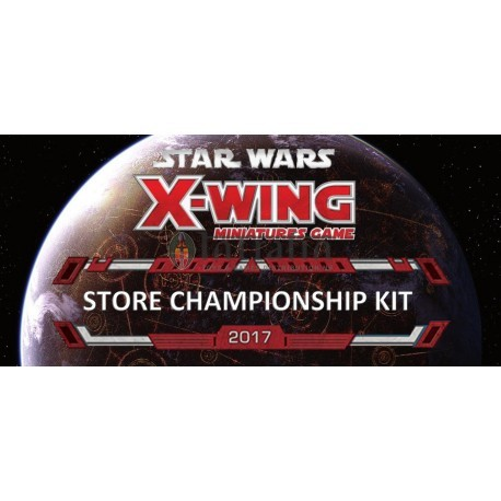 Star Wars Xwing 2017 Store Championship Kit