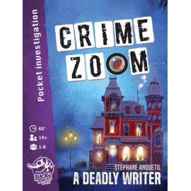 Crime Zoom - A Deadly Writer - Boardgame