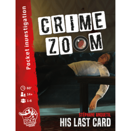 Crime Zoom - His last Card - Card game