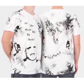 Harry Potter: Wizards Unite - White AOP Men's Short Sleeved T-shirt - Small