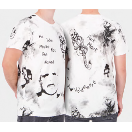 Harry Potter: Wizards Unite - White AOP Men's Short Sleeved T-shirt - Large