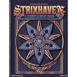 Dungeons & Dragons Next Strixhaven curriculum of chaos Alt cover