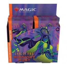 MTG Innistrad Midnight Hunt Collector Booster Display ENG (12)
